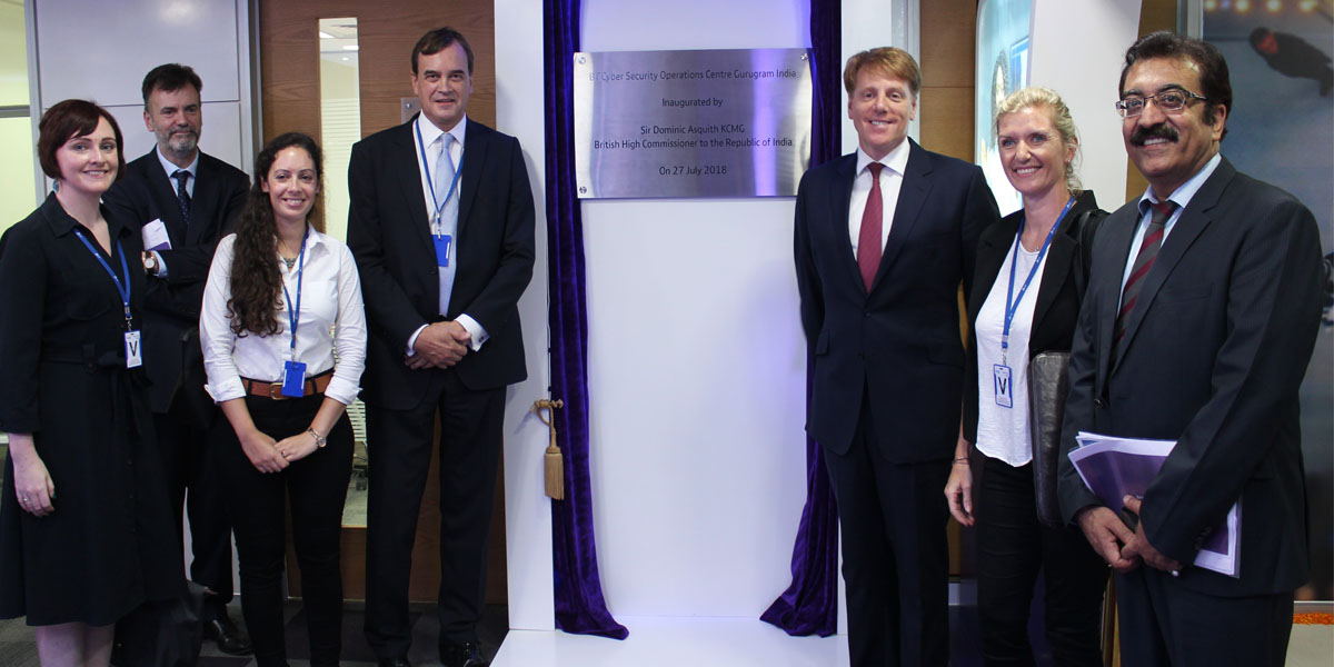 BT opens new global Cyber Security Operations Centre in