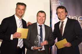 BT wins Cisco's 'Dutch Service Provider Partner of the Year' award