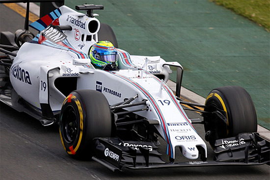 Williams Martini Racing and BT