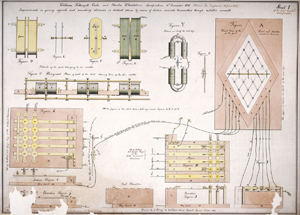 Patent pending: the five-needle electric telegraph CREDIT: SCIENCE MUSEUM
