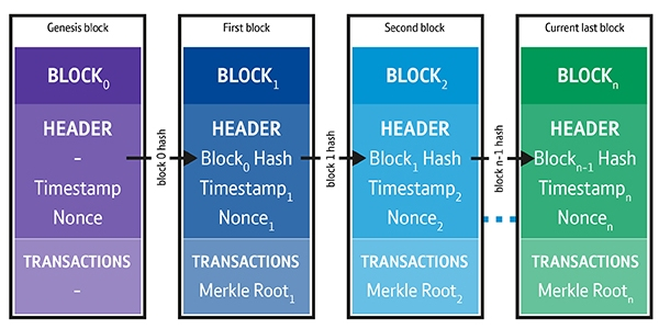 Blocks, chains and blockchains