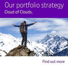 Our portfolio strategy – the cloud of clouds.