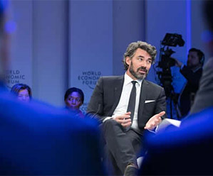 Gavin at World Economic Forum