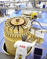 ABB transformer workshop in Ludvika, Sweden - Photo: ABB