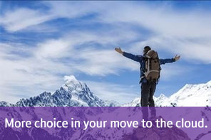 More choice in your move to the cloud