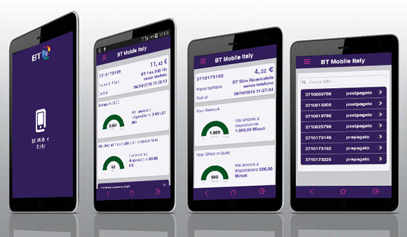 BT Mobile Italy APP