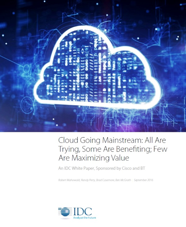 Cloud going mainstream