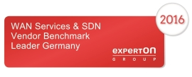 WAN Services and SDN Vendor Benchmark Leader Germany