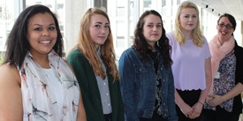 Five young apprentices start their careers with BT Cornwall
