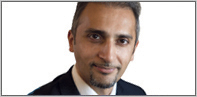 Rehan Khan, Regional Consulting Director in the MENA region, for an FTSE 100 corporation