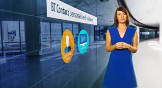 Create unique videos for consumers with BT Contact personalised video